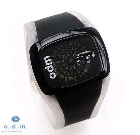 free shipping O.D.M show The sky and earth were spinning round women watch ,10 colors ,50pcs / lot(China (Mainland))