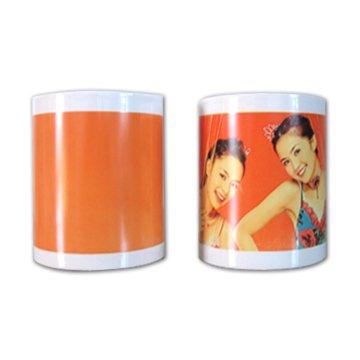 Free Shipping ceramic colour change mug,subllimation mug,sublimation ink(China (Mainland))