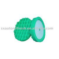 Green  High Quality  Wave  Polishing   Pad