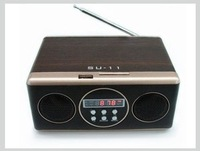 MP3 Mobile Speaker Sound box Portable Boombox with FM Radio / SD Card reader / USB / Line-in RC SU11 - sample