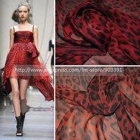 Best Selling Print Silk Fabric Chiffon  Material For Silk Dress Skirt Scarf C1552