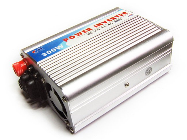 300W Car Power Inverter DC 12V&gt;AC 240V+USB 5v -Fuse outside Adaptor/Adapter - sample(China (Mainland))