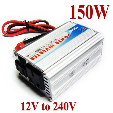 150W Car Power Inverter DC 12V to AC 240V Adaptor -USB -FAN - sample(China (Mainland))