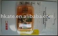 free shipping 50pcs/lot Mini USB 2.0 micro sd /SD/m2/ms card reader usb+TF/Micro SD Adapter xtm001