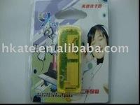 free shipping 50pcs/lot Mini USB 2.0 micro sd /SD/mini/ms/m2 5 in 1 card reader usb+TF/Micro SD Adapter xfc001