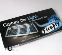 Good kysing quality Box Installed Packed Firefly KU-0533 Style LED Keyboard Backlit Keyboards Free Shipping
