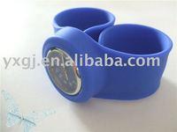 pretty blue silicone watch