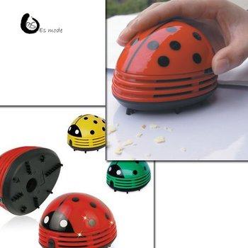 Hot Creative Homeware Large Beetles Type Desktop Vacuum Cleaner Fun Life Free Shipping