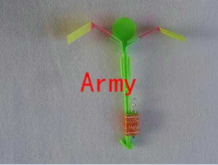 200pcs/lot 2010 Newest toy LED Amazing arrow helicopter Flying umbrella OPP BAG CARD PACKING(China (Mainland))