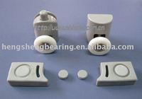 Plastic single shower roller HS001