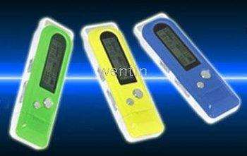 1GB CAR MP3 Audio + Portable MP3 + FM Tansmitter + USB flash drives- lithium Battery - sample