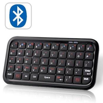 2pcs/Lot Mini Bluetooth Keyboard for Smartphones, iPad, iPhone, PS3