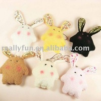 120pcs/lot Hot Sale Fashion Mobile phone pendant,lovely phone pendants,Rabbit pendant,cellphone accessory