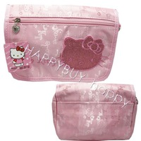 Free Shipping Cartoon Hello Kitty Pink Kids Shoulder Bag Carry Hand bag Sling Bag Wholesale