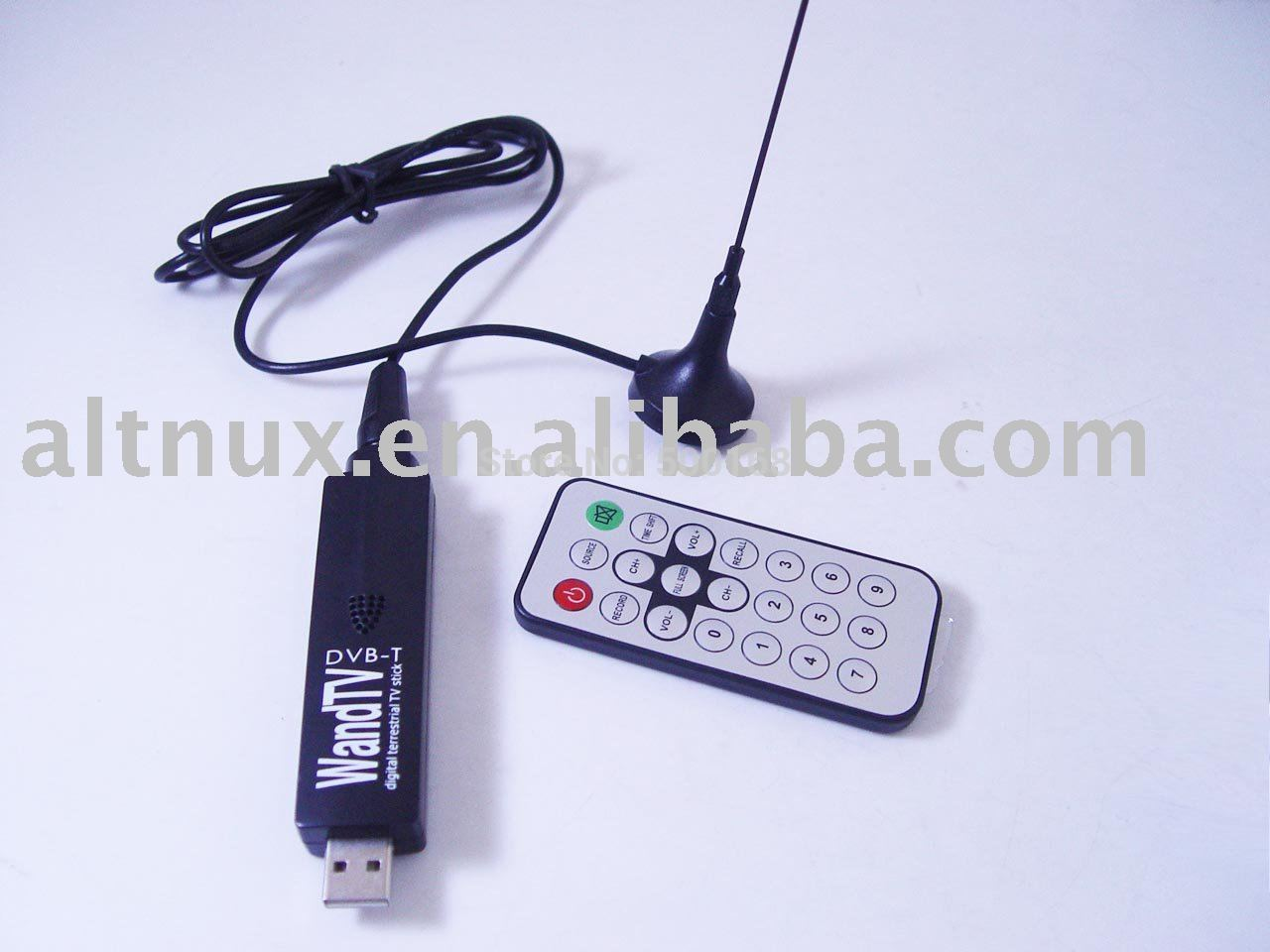 WandTV DVB-T USB HDTV TV TUNER RECEIVER RECORD PC CO5(China (Mainland))