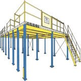 Mezzanine Platform,Rack Mezzanine,Rack Floor,Warehouse Rack,Manufacturer,Wholesale or retail and Easy to assemble and adjust