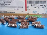 Free Shipping 50PCS NCC 16V 1000UF KZG Aluminum Electrolytic  Capacitor NIPPON CHEMI-CON 1000UF/16V  tracking number