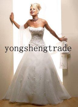 Fashion Wedding Dress Chiffon Wedding Dress High Quality Custom Wedding Dress  HS0170