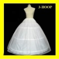 free shipping 3-Hoop Bridal PETTICOAT adjustable wholesale/retail
