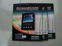 Free Shipping Brand new Screen Protector For iPad
