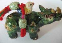 free shipping+ceramic handicraft chinese ceramic handmade pendants +wholesale