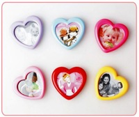 2011 newest mini photo frame,plastic. DIY photo frame for fridge,fridge magnet