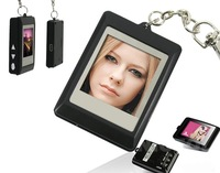 16MB Black USB digital photo frame key chain  &  Free shipping