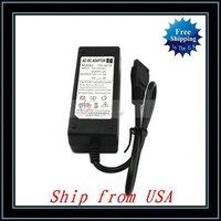 Free Shipping + 5pcs/lot 12V+5V AC Adapter for Hard Disk Drive Power Supply Ship from USA-CG007