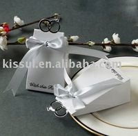 "Wedding  Supplier wedding boxes  favor  boxes  85pcs/lot  FB9823 ""With this Ring"" Elegant Favor Boxes"