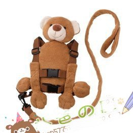 Goldbug/eddie bawer Anti-lost child modeling strap 2 in 1 harness buddy Baby Backpacks(China (Mainland))