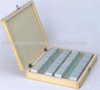 100 pieces microscope prepared slides