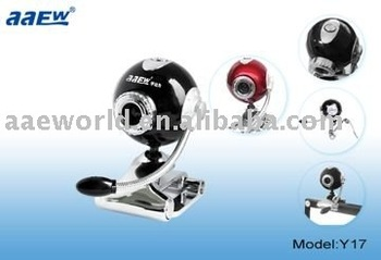 2011 new design webcam,Y17,Hot sales webcam,Can built-in Mic,Plug&Play