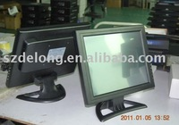 touch panel wholesale!! 15inch industrial lcd monitor (AV/TV optional) touchscreen