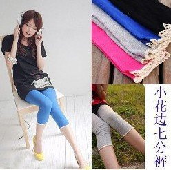 FREE SHIPPING 2011 New Cheap Fashion Ladies'/Women's/Girl's/Female Pants Trousers 6pcs/lot(China (Mainland))