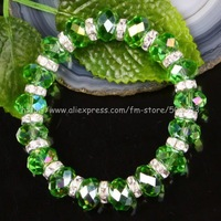 free shipping new design bracelet stretchy crystal rhinestone bracelet  ,(6 pcs) wholesale and retail, D046
