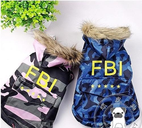 Novo! Casaco de inverno roupas roupas Hot Sale Frete Grátis animal de estimação cão cão FBI 100/lot FRESCO XS-XXL(China (Mainland))