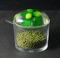 Wholesale Seasoning sauce bottle seasoning box plastic box cans kitchen seasoning 20pcs/lot free shipping
