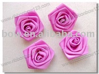 Glossy Artificial Polyester Flower