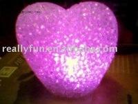 Hot Sale Nice LED Dream Magic crystal ball Light, Romantic heart Light, LED Dream Magic crystal Lamp,LED Gift