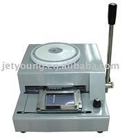 JETYOUNG PVC Card Manual Letterpress Machine / Letter Punch Machine