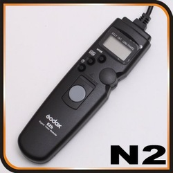 Wholesale Timer LCD Remote cord shutter for Nikon D80 D70S WITH TRACKING NUMBER(China (Mainland))
