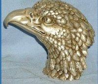 Rare old Tibet Silver Eagle Head Statue