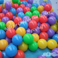 Free shipping!Promotional!Ocean ball/bobo ball for children tent/50pcs/bag//retail/wholesales
