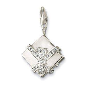 Free shipping! elegant 925 silver necklace bracelet charm pendant Charm Pendant TSPD099--gift box charme 30/lot(China (Mainland))