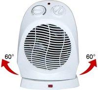 electric fan heater with osc  2000w
