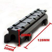 """Wholesale - Lot of 10pcs Weaver High Extension Rail Mount Base 128mm (5"""")"""