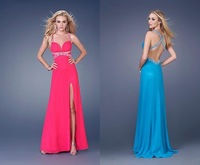 free shipping cheap top-quality Paillette eveing dress/evening gown/party dress/prom dress