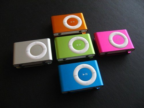 Dropship Free shipping Wholesale MP3 Player with Clip 8 color support Micro SD(TF )card(China (Mainland))