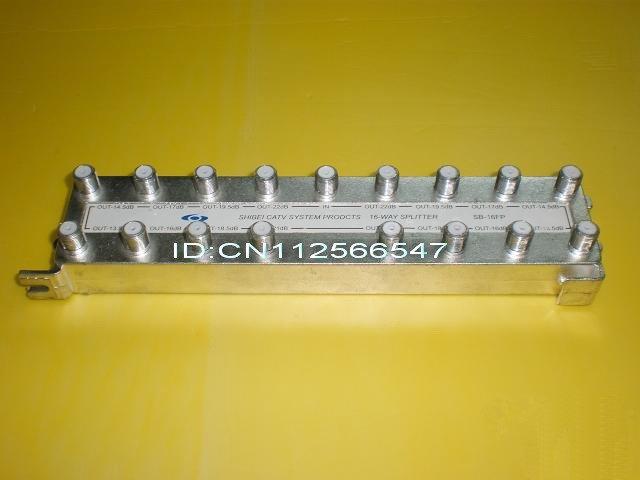 Free shipping, brand new 16 ways CATV splitter, SB-16FP, tap off(China (Mainland))