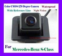 Free Shipping!!!  cmos CAR Rear View Camera FOR Mercedes Benz S Class